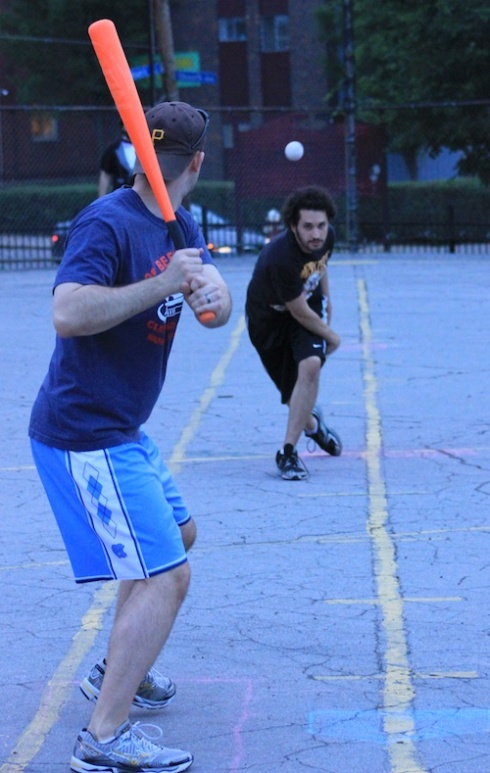 Joey and the Fish Sticks came close to squandering another big lead against Bobby Brown and their rally caps