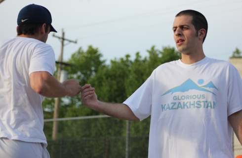 The Caucasians, led by Morrison's three homers, stunned the Fish Sticks in a 9-8 victory