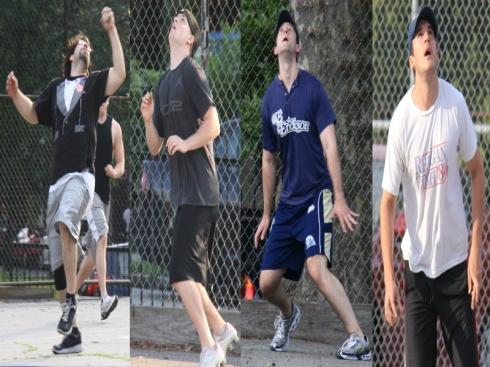 2012 EWL Field Masters Kory Blose, Adam Vassallo, Brad Lentz, and Anthony Morrison