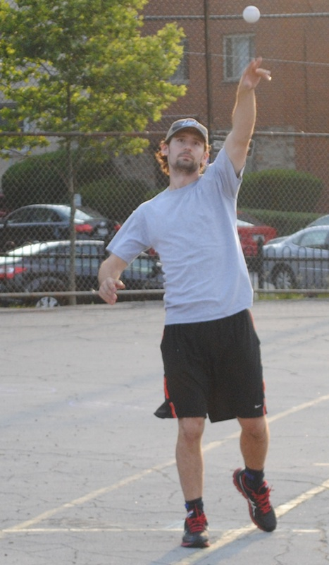Bob pitched a gem and provided his own run support, leading Questionable Outfit in a 4-2 defeat of Cookies & Cream
