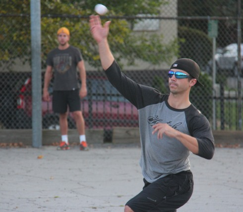 Reilly pitched the complete game win for Questionable Outfit in a strong bounce-back effort after struggling in game 1