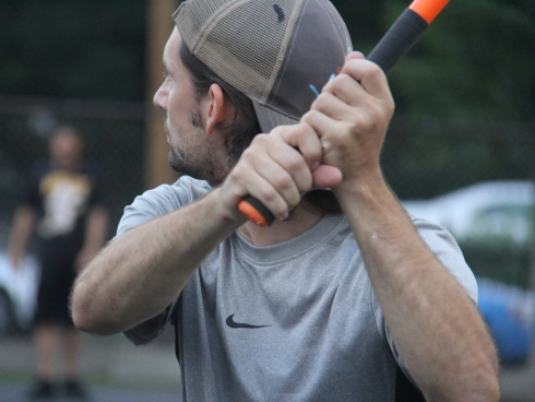 Bob had two home runs in the game, and totaled 5 through the first two games of the Wiffle Series, but took the loss on the mound