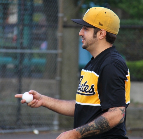 Helal pitched a 3-hitter and went 2-for-4 at the plate in the Eastbound win
