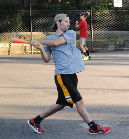 Bob went 4-for-6 to lead Questionable Outfit in their comeback win over Cookies & Cream, and scored the go-ahead run in the top of the sixth