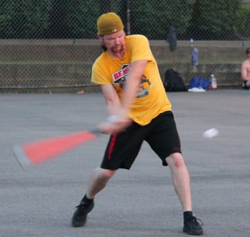 Nate came through again in the bottom of the sixth, putting Eastbound within a game of the Wiffle Series