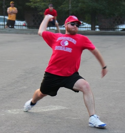Tim was solid on the mound for the Slams, allowing Questionable Outfit to accumulate only 6 hits, but it wasn't enough, as the Slams fell into an 0-2 hole in the first round series
