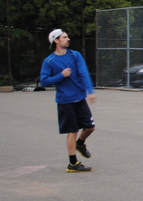 Bob allowed only four hits in a complete game shutout of the Ham Slams, as Questionable Outfit won 4-0