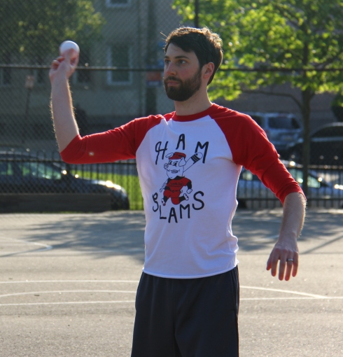 Josh was in control on the mound, scattering six hits and striking out two in a complete game shutout for the Ham Slams