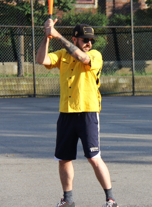 Helal returned to the Wiffle Diamond for the first time in six weeks and went 2-for-4 with a single, a homer, and two runs scored