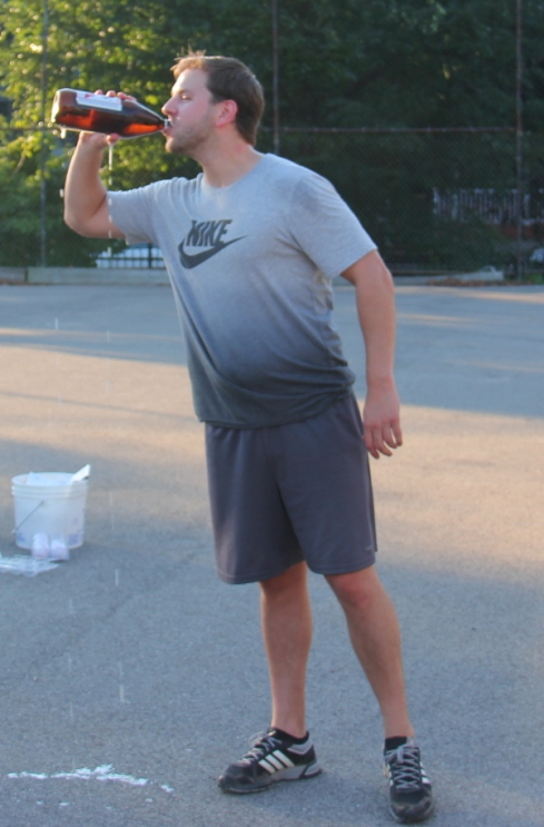 Tom hit over .600 in the Wiffle Series and had three home runs in game four